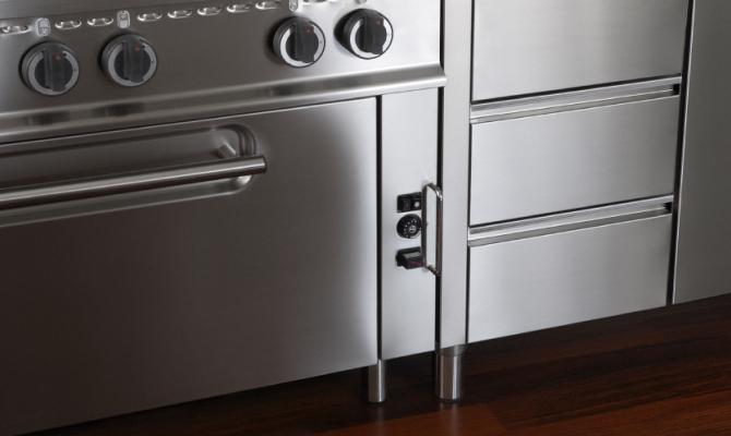 ABC della cucina in acciaio