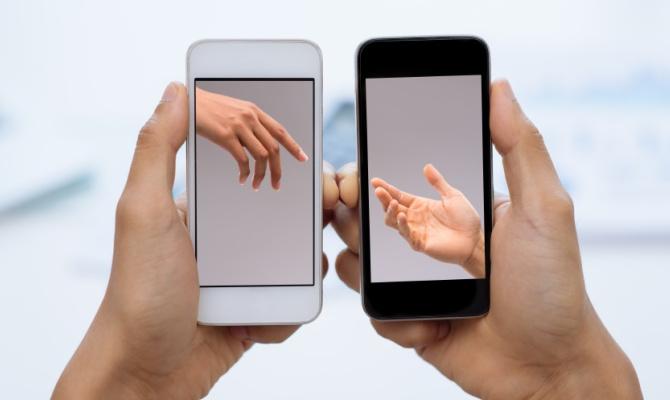 Comunicare tramite smartphone