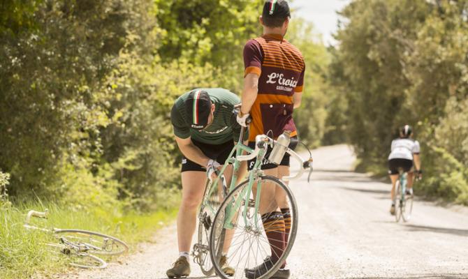 L'Eroica di Santini: quando una bici fa tendenza