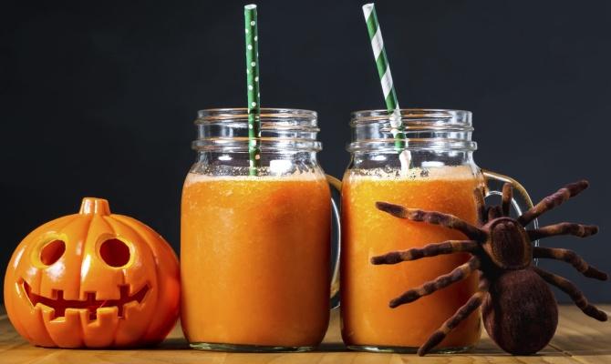 halloween, zucca, drink