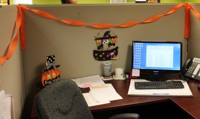 Scrivania decorazioni Halloween