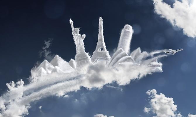 Traffico tra le nuvole