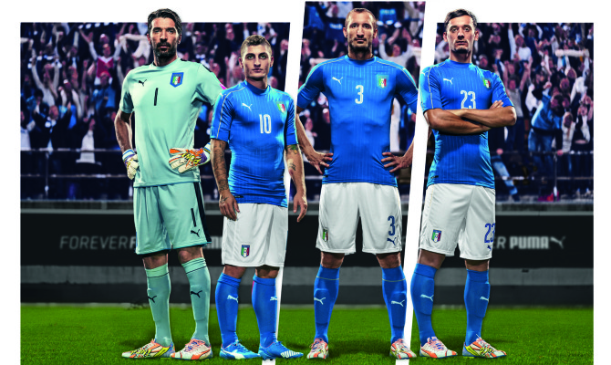 Lo stile italiano veste la Nazionale