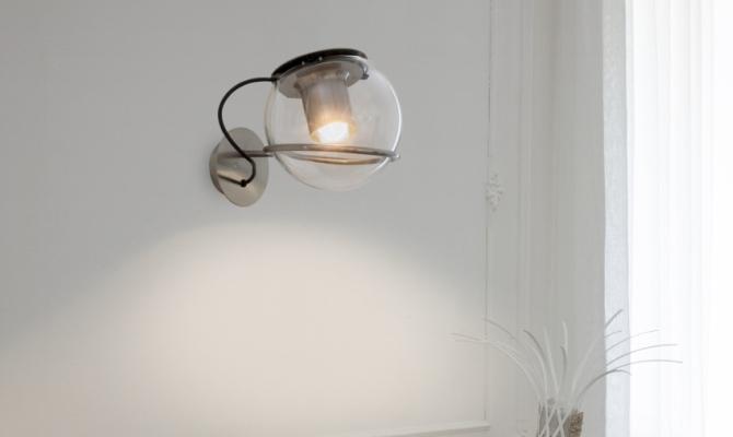 The light omaggio a joe colombo for Joe colombo lampada