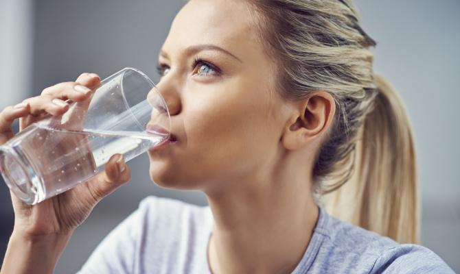 acqua, donna, salute