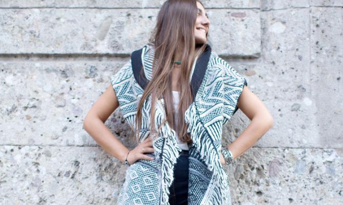 Maglia Zebra, indossata da Margherita Cardelli