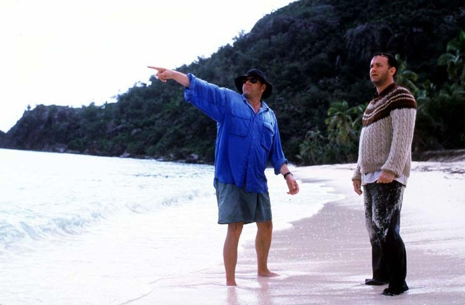 Sul set di Cast Away (2000)