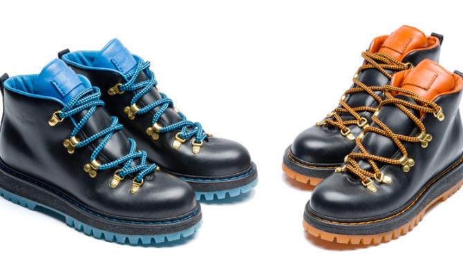 La scarpa per l'inverno è mountain chic