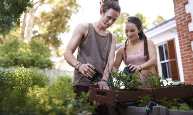 Giardinaggio, per sentirsi meglio