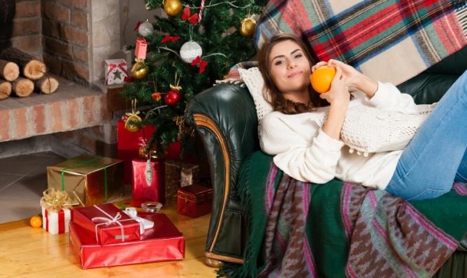 Ragazza single a Natale