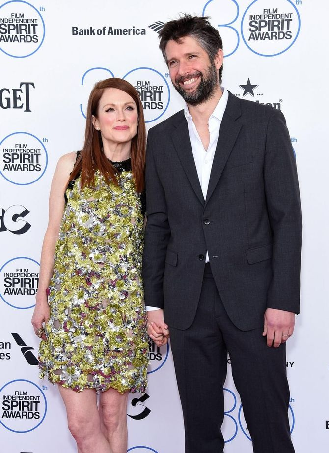 Julianne Moore e Bart Freundlich