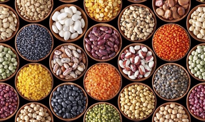 legumi, fagioli, colori, cucina
