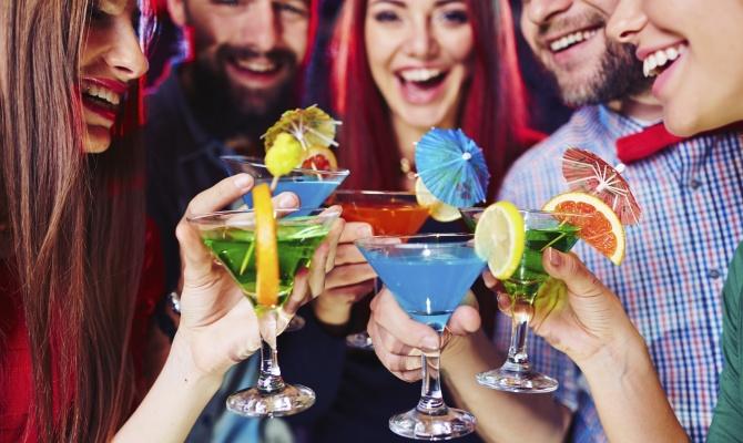 serata, amici, drink