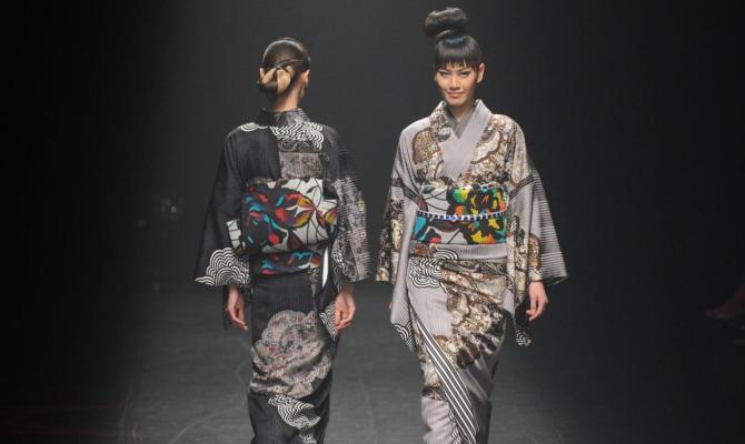 Avanti Est con la moda del kimono