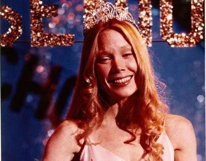 Sissy Spacek nove anni più giovane per Carrie (1976)
