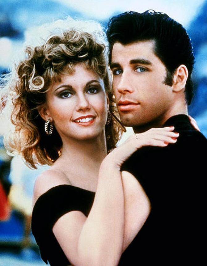 John Travolta e Olivia Newton John - Grease (1978)