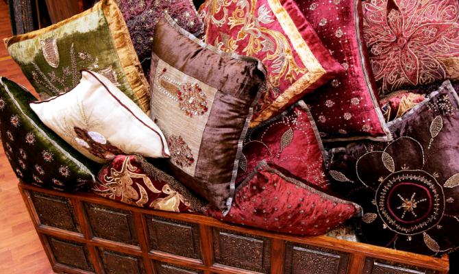cuscini fai da te con 'ripieni' particolari - www.stile.it - Cuscino Con Lenticchie