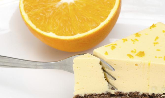 Cioccolato e arancia per la torta natalizia