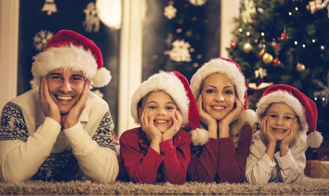 Il Natale in famiglia