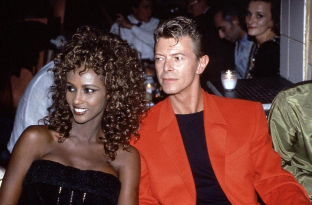 Iman e David Bowie