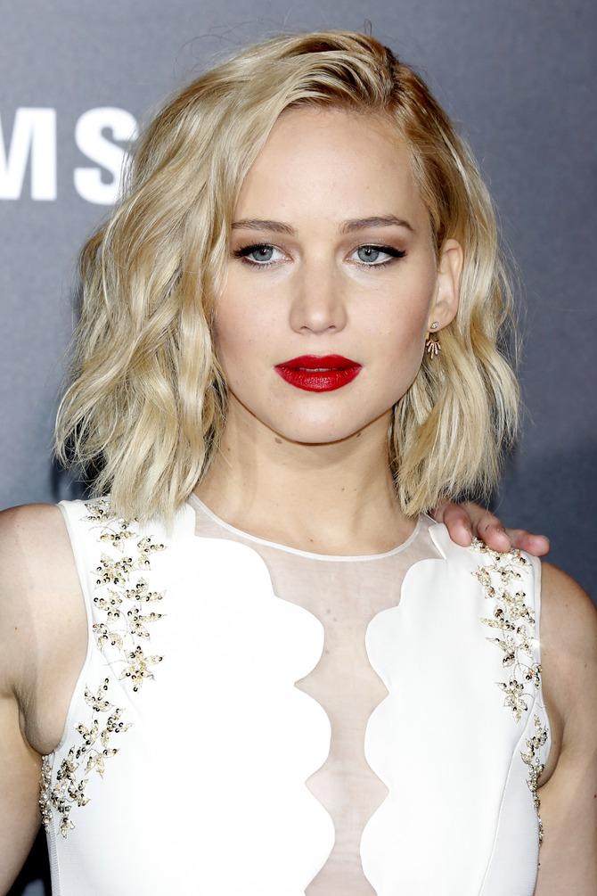 Sul red carpet con Jennifer Lawrence