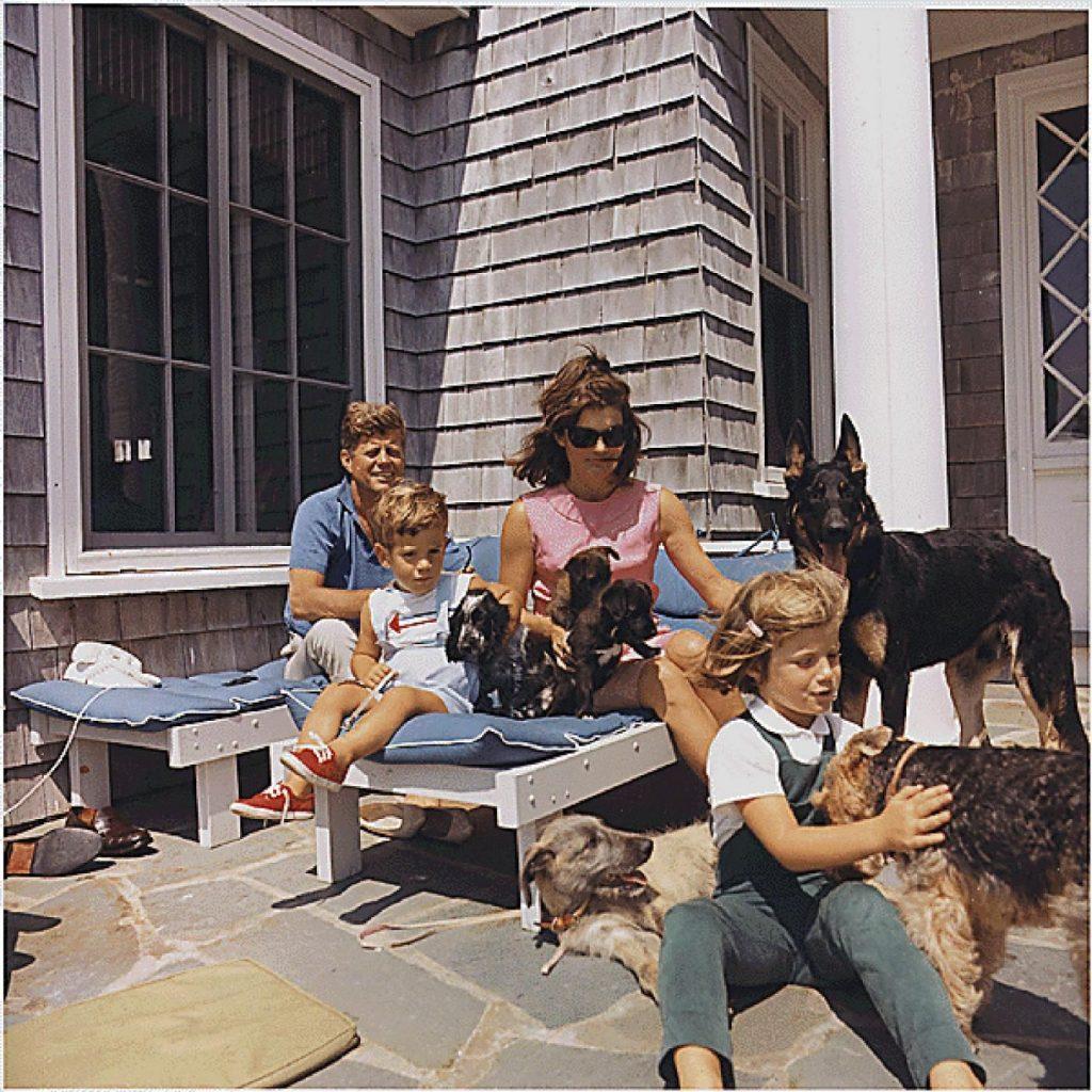 Jacqueline Kennedy Onassis e John F. Kennedy