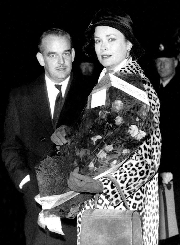 Grace Kelly (Grace di Monaco) e il Principe Ranieri