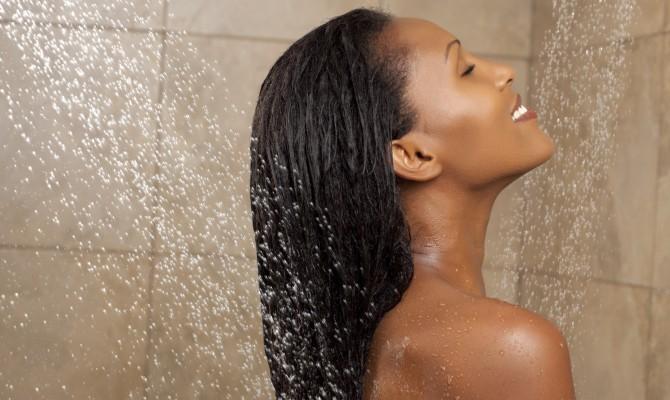 Una doccia rilassante