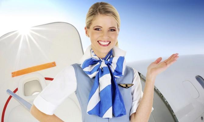 Hostess in volo