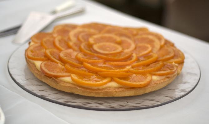 Crostata sbagliata di arance