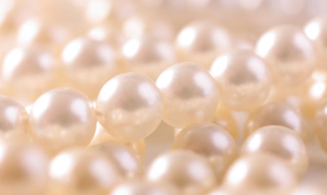 Una rinfrescata alle perle
