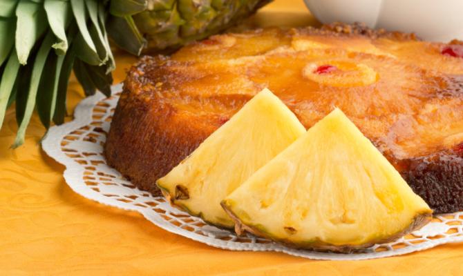 Torta sottosopra all'ananas