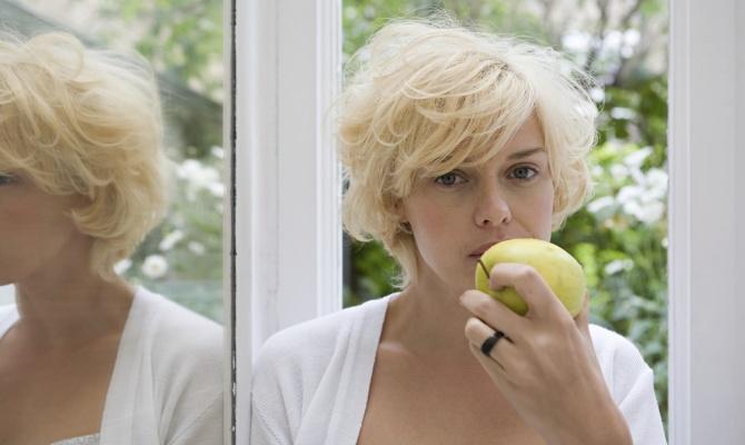Mangiare allo specchio