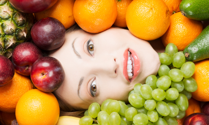 Frutta, benessere per la pelle