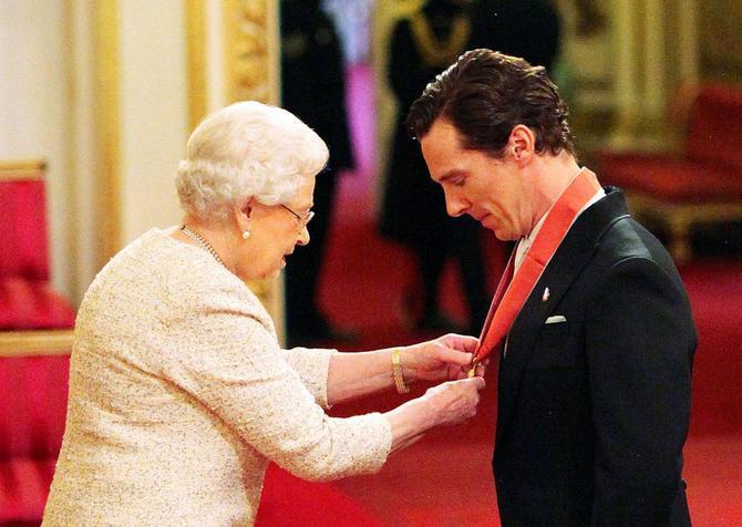 Premiato dalla Regina