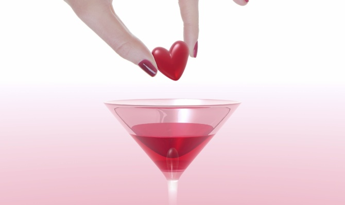 Un cocktail per San Valentino