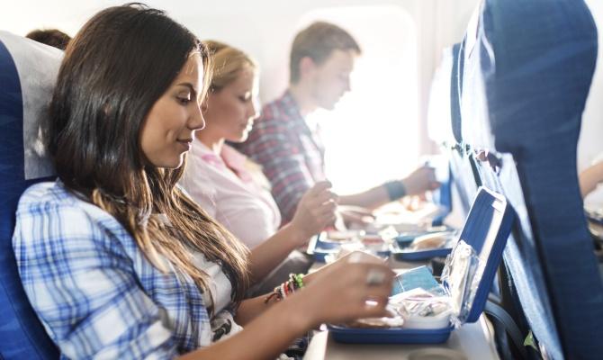 Cosa mangiare in volo