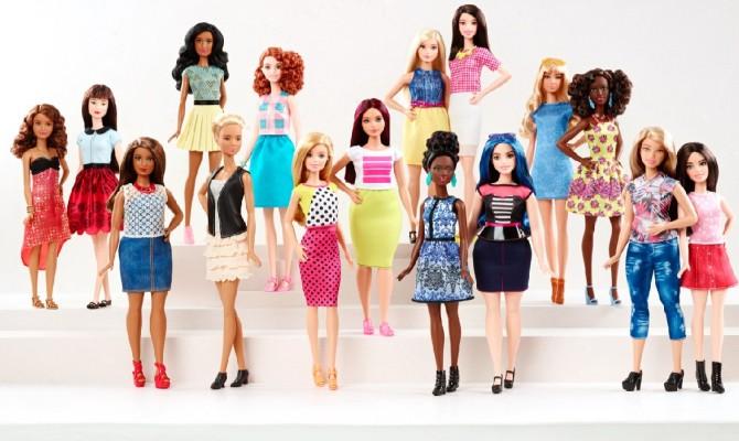 Barbie, arrivano le curvy!