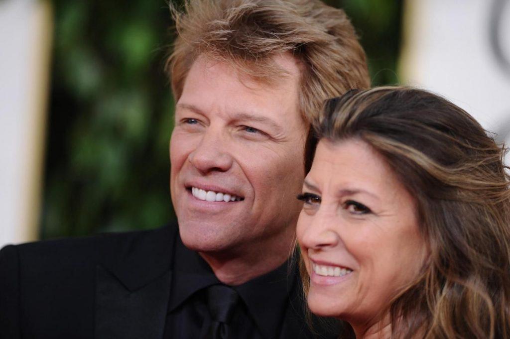 Jon Bon Jovi e Dorthea Hurley