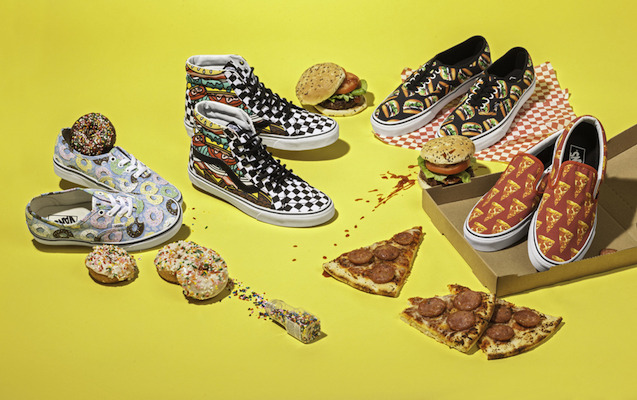 Pop & foodie sneakers