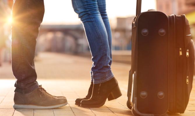 San Valentino: uomini e donne in viaggio