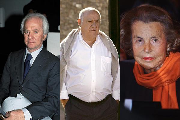 Le otto persone più ricche d'Europa