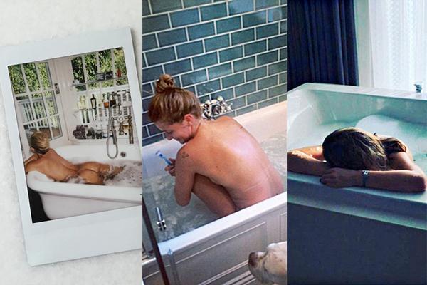 Bellezze al bagno: i selfie delle star su Instagram