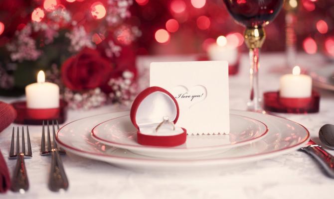 San Valentino Tavolo.San Valentino A Tavola Www Stile It