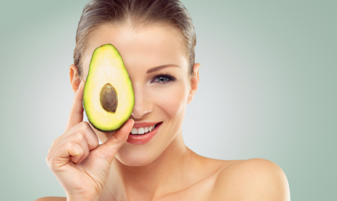 Avocado per beauty