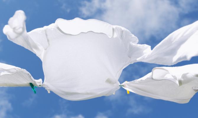 Consigli per un bucato bianco e immacolato