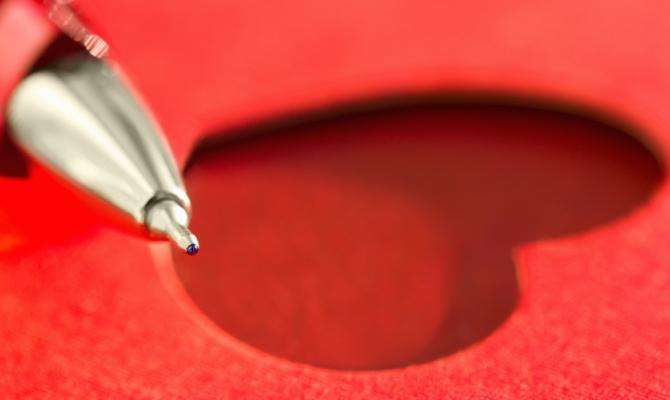 San Valentino: amore e design tutto in una penna