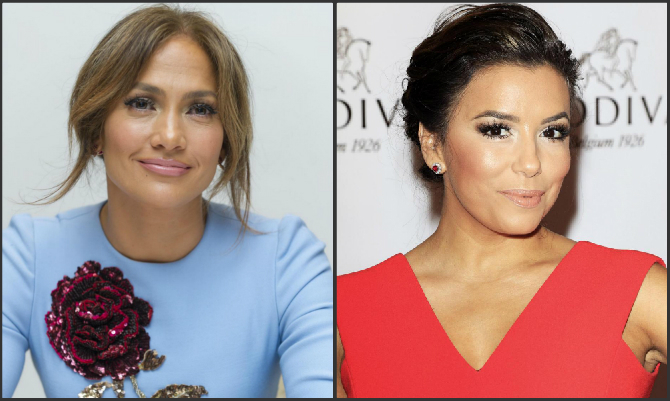 Jennifer Lopez ed Eva Longoria