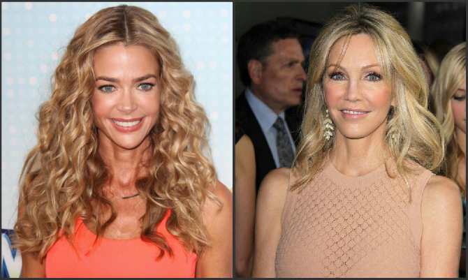 Denise Richards e Heather Locklear
