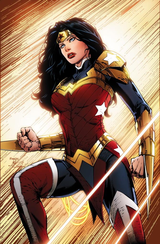 Il nuovo look di Wonder Woman